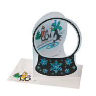 Snow Globe Greeting Cards Craft Kit (makes 24)