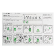 Thumbprint Comic Strip (makes 24)