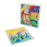 Camp Scene Watercolor Craft Kit (makes 36)