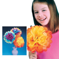 Tissue Flower Jumbo Group Pack  (makes 84)