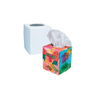 Precut, Fold-up Tissue Box Covers (pack of 24)