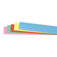 Sentence Strips Assorted Colors  (pack of 100)