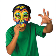 Papier Mache Mask  (pack of 12)