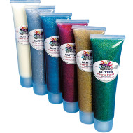 Glitter Fabric Paint  3 oz.
