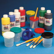 Color Splash!® Liquid Tempera Paint 16 oz. Easy Pack, Assorted (pack of 6)