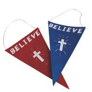 Believe Flag Craft Kit (makes 24)