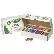 Crayola® Classpack® Crayons - Regular, 8 Colors  (box of 800)