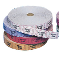 Single Roll Tickets - Admit One  (roll of 2000)