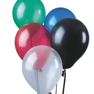 "11"" Jeweltone Balloons - Assorted Colors  (bag of 100)"