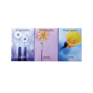 Value Greeting Cards Sympathy (12 boxes of 10 cards)