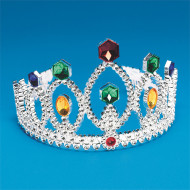 Silver Tiara  (pack of 12)