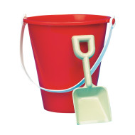 "7"" Plastic Pail and Shovel (pack of 12)"