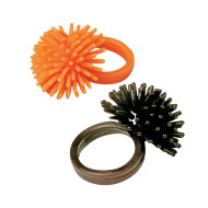 Halloween Wooly Rings (pack of 72)