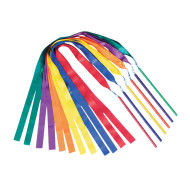 "Spectrum™ Ribbon Wands, 72"" Long (set of 6)"