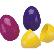 "2-1/2 "" Split Plastic Eggs  (pack of 144)"