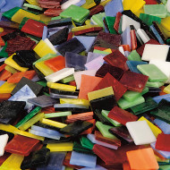 8 lb. Mega Stained Glass Chip Assortment