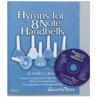 Hymns for 8 Note Handbells Book and CD