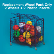 Replacement Wheels for All-Purpose Cart (pair)