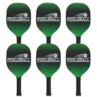 Deluxe Pickle-Ball® Paddles (set of 6)