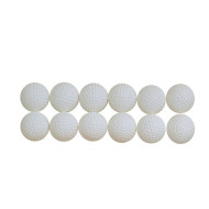 Hollow Practice Golf Balls  (pack of 12)