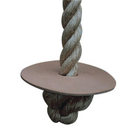 Manila Climbing Rope with Turk Knot