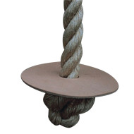 Unmanila Climbing Rope with Turk Knot