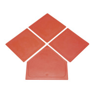 Orange Oversized Safe Bases