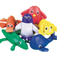 Spectrum™ Beanbag Animal Set (pack of 6)