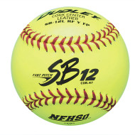 "Dudley® NFHS Fast Pitch Softball 12"" SB12LRFY FP"
