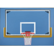 Gared Glass Backboard