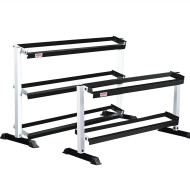 "York® Tiered Dumbbell Rack 65""L x 23""W x 39""H"