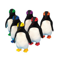Spectrum™ Rubber Latex Mini King Penguin  (set of 6)