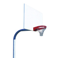 Rectangular Steel Backboard System