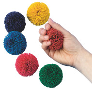 "Spectrum™ 2"" Kooshie Ball, Solid Color (set of 6)"