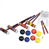 Combo Croquet and Bocce Set