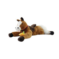 Interactive Plush Big Brown Horse