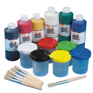 Color Splash!® Washable Tempera Paint Easy Pack