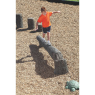 NatureRocks® Fallen Tree Balance Beam