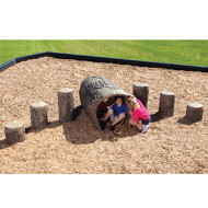 NatureRocks® Log Tunnel, 6ft.