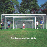 White Replacement Soccer Net 6