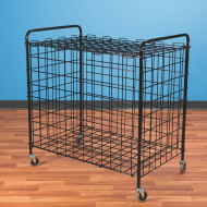 S&S® Classic Equipment Cart, Black