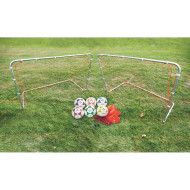 Deluxe Steel Goal Youth Soccer Easy Pack