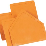 Throw Down Bases Set, Orange (set of 4)