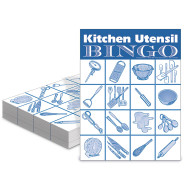 Kitchen Utensil Bingo Game