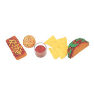 Hispanic Play Food Set