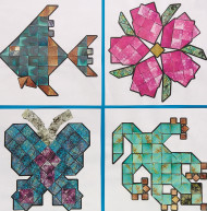 Mineral Mosaics Craft Kit (makes 32)