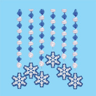 Snowflake Twisters  (pack of 12)
