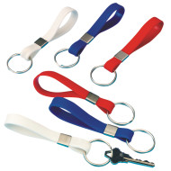 Patriotic Silicone Key Chains (pack of 24)