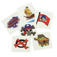 Pirate Tattoos  (pack of 144)