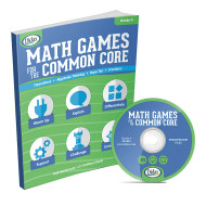 Math Games For The Common Core, Grade 4